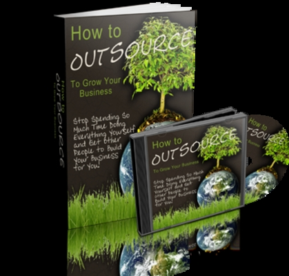 Product picture Outsource to Grow Your Business Audio ebook MRR + Bonuses