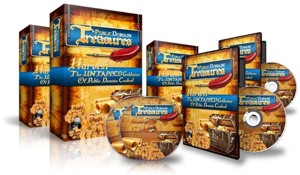 Product picture Public Domain Treasures Video Course MRR + Bonuses